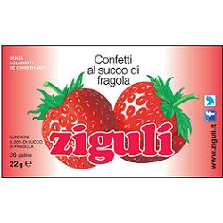 ZIGULI FRAGOLA 36 PALLINE 22 G - Farmia.it