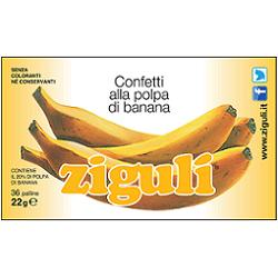 ZIGULI BANANA 36 PALLINE 22 G - Farmia.it