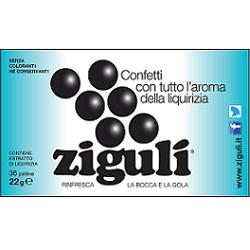 ZIGULI LIQUIRIZIA 36 PALLINE 22 G - Farmia.it