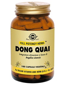 DONG QUAI 100 CAPSULE VEGETALI - Farmacia 33