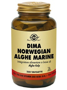 DIMA NORWEGIAN ALGHE MARINE 250 TAVOLETTE - Farmafamily.it