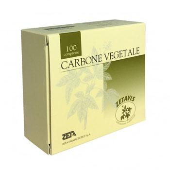 ZETAVIS CARBONE VEGETALE 100 COMPRESSE - Farmaci.me