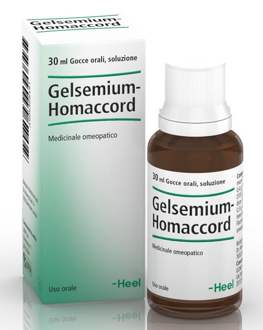 HEEL GELSEMIUM HOMACCORD GOCCE 30 ML - Farmaciapacini.it