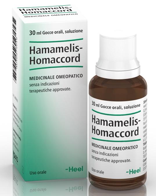 HEEL HAMAMELIS HOMACCORD GOCCE 30 ML - Turbofarma.it