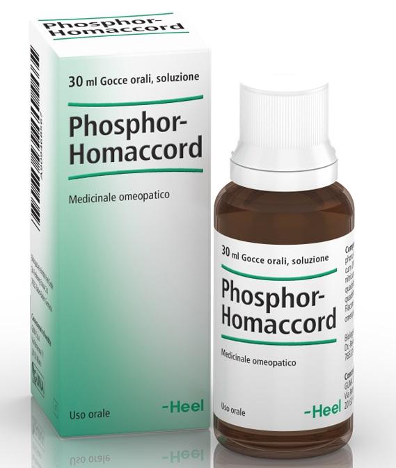 HEEL PHOSPHOR-HOMACCORD GOCCE 30 ML - Farmaciapacini.it