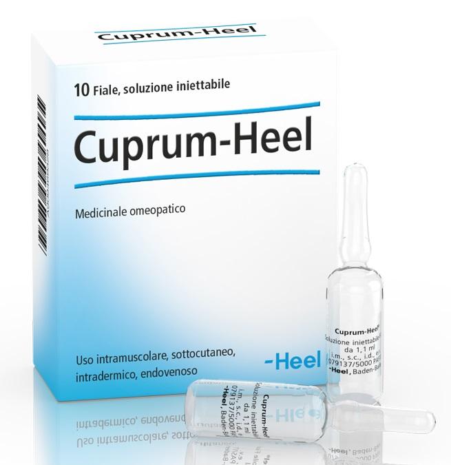 HEEL CUPRUM 10 FIALE DA 1,1 ML L'UNA - Arcafarma.it