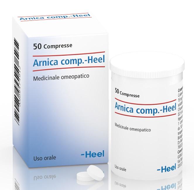 HEEL ARNICA COMPOSTO 50 COMPRESSE - Farmajoy