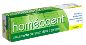 HOMEODENT DENTIFRICIO LIMONE 75 ML - Farmaci.me