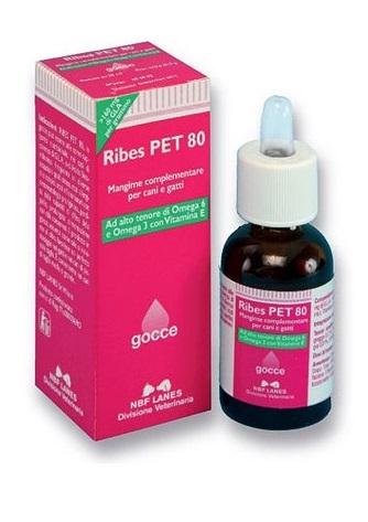 RIBES PET 80 GOCCE OLIO 25 ML CON CONTAGOCCE - Farmacia Barni