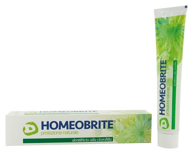 HOMEOBRITE DENTIFRICIO ALLA CLOROFILLA 75 ML - farmaciadeglispeziali.it