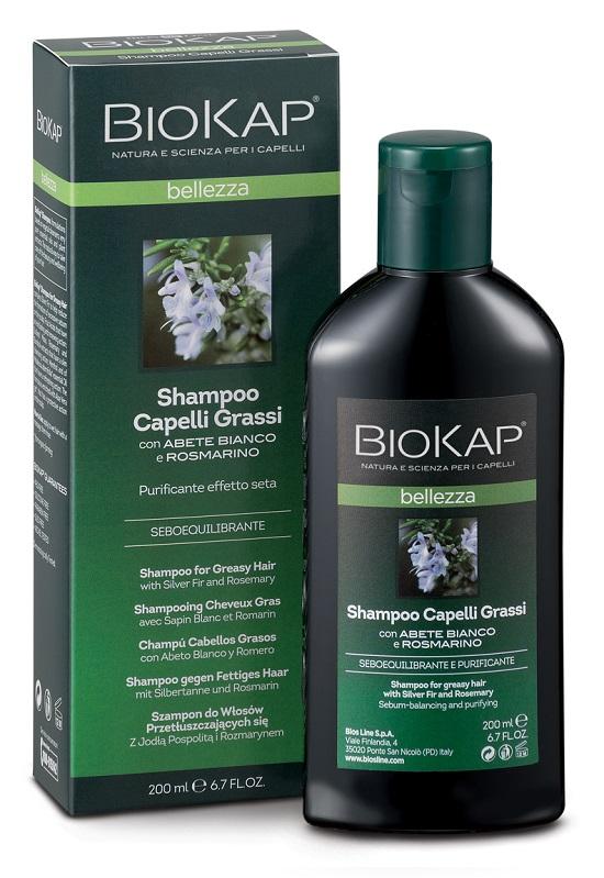 BIOKAP SHAMPOO CAPELLI GRASSI - Farmacia Castel del Monte