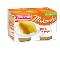 PLASMON OMOGENEIZZATO YOGURT PERA 120 G X 2 PEZZI - Farmabros.it