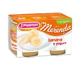 PLASMON OMOGENEIZZATO YOGURT BANANA 120 G X 2 PEZZI - Farmabros.it
