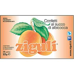 ZIGULI ALBICOCCA 36 PALLINE 22 G - Farmia.it