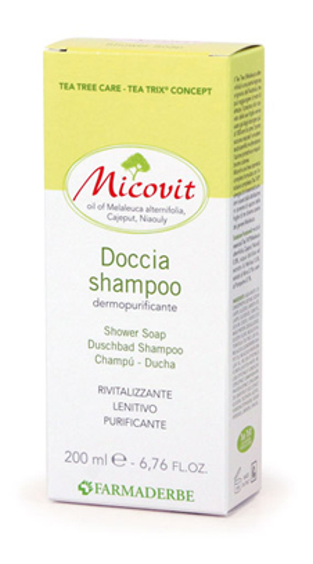 MICOVIT DOCCIA SHAMPOO 200 ML - Farmacia Centrale Dr. Monteleone Adriano