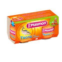 PLASMON OMOGENEIZZATO TROTA VERDURE 80 G X 2 PEZZI - Farmacia Massaro