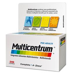 MULTICENTRUM 30 COMPRESSE - Farmaciacarpediem.it