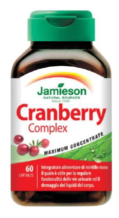 CRANBERRY COMPLEX JAMIESON 60 CAPSULE - Farmacia Massaro