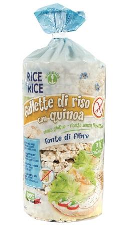 RICE&RICE GALLETTE DI RISO CON QUINOA 100 G SENZA LIEVITO - FARMAPRIME