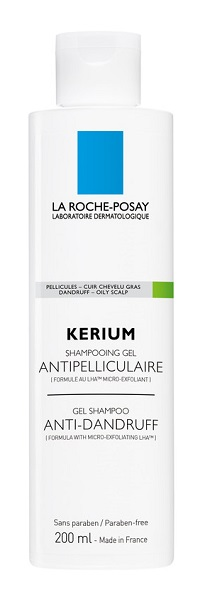 KERIUM SHAMPOO ANTI-FORFORA CAPELLI GRASSI 200 ML - Farmastop