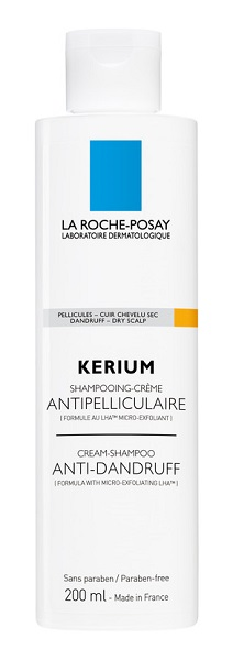 KERIUM SHAMPOO ANTI-FORFORA CAPELLI SECCHI 200 ML - Spacefarma.it