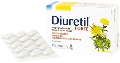 DIURETIL FORTE 45 COMPRESSE - Farmaseller