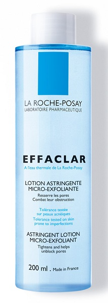 LA ROCHE POSAY EFFACLAR LOZIONE ASTRINGENTE MICRO-ESFOLIANTE 200 ML - Farmastar.it