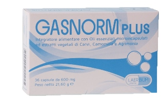 GASNORM PLUS 36 CAPSULE - Farmapage.it