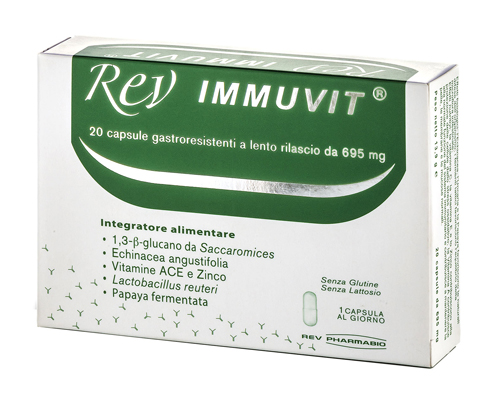 Rev Immuvit 20cpr - Zfarmacia