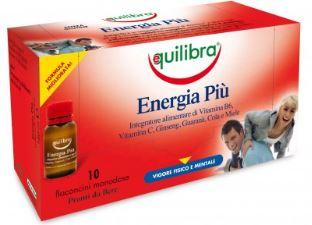Equilibra Energia Più Integratore Metabolismo Energetico 10 Flaconcini