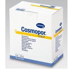 CEROTTO ADESIVO IN TNT IPOALLERGENICO CON TAMPONE MEDICAZIONE IN VISCOSA 8X500CM 1 PEZZO - Farmapage.it