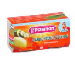 PLASMON OMOGENEIZZATO CAROTA/PATATA/ZUCC 80 G X 2 PEZZI - Farmacia Castel del Monte