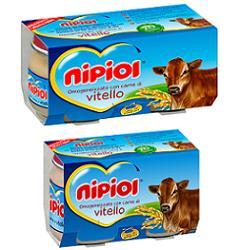 NIPIOL OMOGENEIZZATO VITELLO 80 G 2 PEZZI - Farmaseller