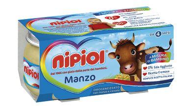 NIPIOL OMOGENEIZZATO MANZO 120 G 2 PEZZI - La farmacia digitale