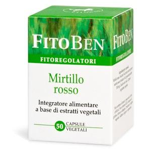 MIRTILLO ROSSO 50 CAPSULE