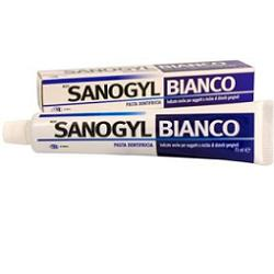 SANOGYL BIANCO PASTA DENTIFRICIA 75 ML - Farmacia Massaro