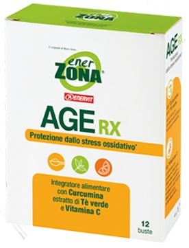 Enerzona Age RX Integratore Antiossidante 12 Bustine