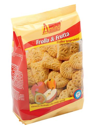 AMINO' FROLLA&FRUTTA APROTEICI 200 G - pharmaluna