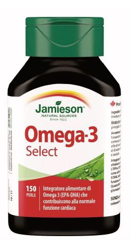 OMEGA-3 SELECT JAMIESON 150 PERLE - latuafarmaciaonline.it