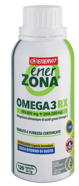 ENERZONA OMEGA 3 RX 120 CAPSULE - Spacefarma.it