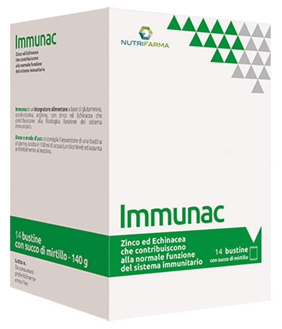 IMMUNAC 14 BUSTINE 10 G - Farmapage.it