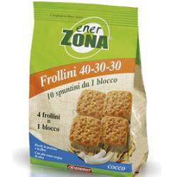 ENERZONA FROLLINI COCCO 250 GRAMMI - Farmabellezza.it