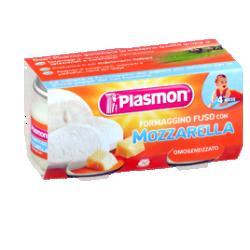 PLASMON OMOGENEIZZATO FORMAGGINO MOZZARELLA 80 G X 2 PEZZI - Farmacia Massaro