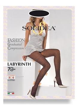 Solidea Labyrinth 70 DEN Collant Compressivo Colore Moka Taglia 1