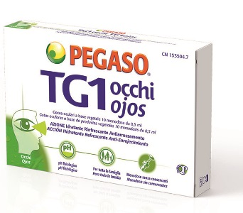 GOCCE OCULARI TG1 OCCHI 10 MONODOSE 0,5 ML - Farmaconvenienza.it