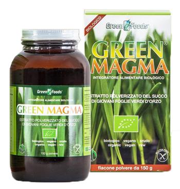GREEN MAGMA POLVERE 150 G - Farmaciacarpediem.it