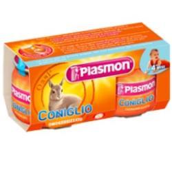 PLASMON OMOGENEIZZATO CONIGLIO 4 X 80 G - DrStebe