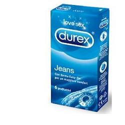 DUREX JEANS PROFILATTICO  EASY ON 6 PEZZI - Farmawing