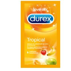 DUREX TROPICAL PROFILATTICO  EASY ON 6 PEZZI - Farmawing