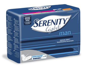 PANNOLINO SERENITY LIGHT MAN EXTRA COMFORT 15 PEZZI - Carafarmacia.it